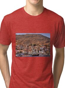 Ships in the Harbour Tri-blend T-Shirt