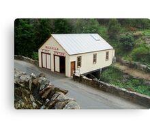 Walhalla Fire Station Metal Print