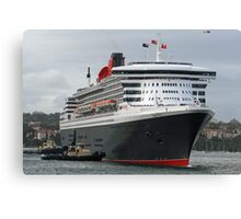 Queen Mary 2 Arrives Sydney 003 Canvas Print