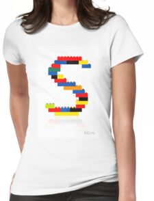 """S"" Womens Fitted T-Shirt"