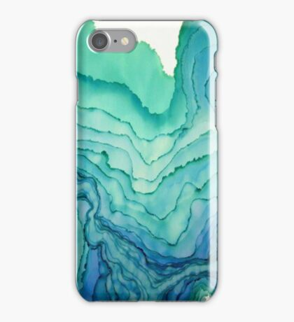 watercolour layers iPhone Case/Skin