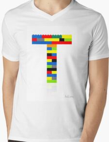"""T"" Mens V-Neck T-Shirt"