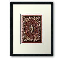 The Big Lebowski  carpet Framed Print