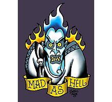 Mad as Hell Photographic Print