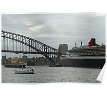 Queen Mary 2 Arrives Sydney 006 Poster