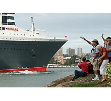 Queen Mary 2 Arrives Sydney 010 Photographic Print