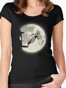 Leap of Faith | Night Women's Fitted Scoop T-Shirt