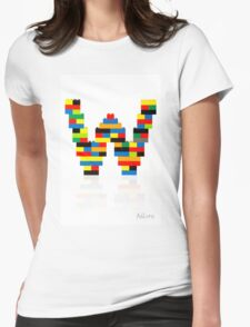 """""""W"""" Womens Fitted T-Shirt"""
