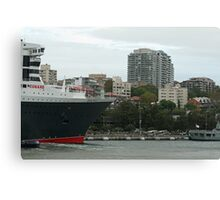 Queen Mary 2 Arrives Sydney 013 Canvas Print