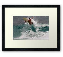 Snapper Rocks #1, Gold Coast Framed Print