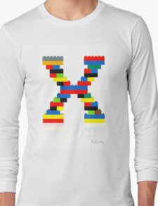 """X"" Long Sleeve T-Shirt"