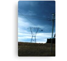 Powered Country Canvas Print