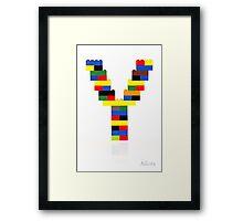 """""""Y"""" Framed Print"""