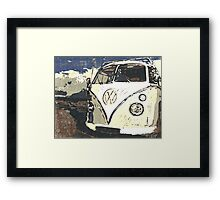 VW Splt Screen Camper 1 Framed Print