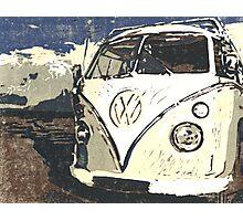 VW Splt Screen Camper 1 Photographic Print
