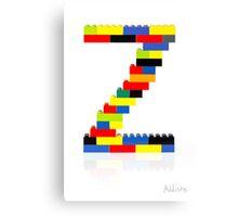 """""""Z"""" Canvas Print"""