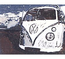 VW Splt Screen Camper 2 Photographic Print