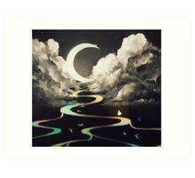 ascending by aurora. Art Print