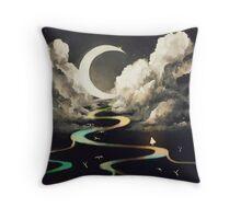ascending by aurora. Throw Pillow