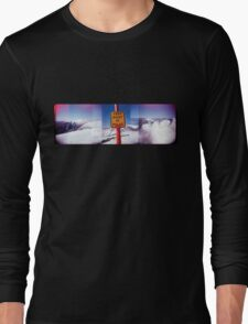 keep right of poles Long Sleeve T-Shirt