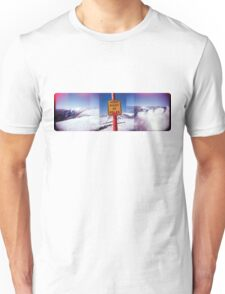 keep right of poles Unisex T-Shirt