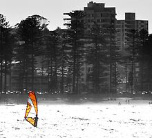 Manly Windsurfer by baddoggy