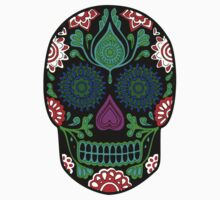 Colorful Sugar Skull Kids Clothes