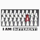 I am different by EskimoGraphics