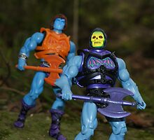 Masters of the Universe Classics - Battle Armor Faker & Skeletor by GskullWarrior