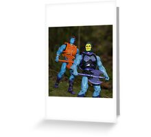 Masters of the Universe Classics - Battle Armor Faker & Skeletor Greeting Card
