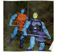 Masters of the Universe Classics - Battle Armor Faker & Skeletor Poster