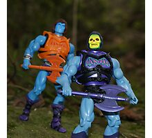 Masters of the Universe Classics - Battle Armor Faker & Skeletor Photographic Print