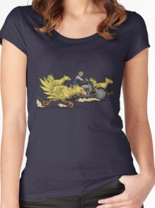 Jurassic Fantasy Women's Fitted Scoop T-Shirt