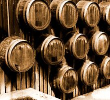 Barrell Wall by Andrew Dickman