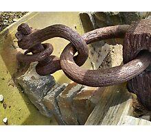 Block & Tackle from Hulk Anchor Photographic Print