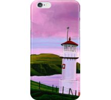 Lighthouse at Mykines Faroe Islands iPhone Case/Skin