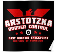 Papers Please - Arstotzka Border Control Poster