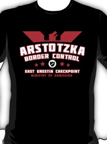 Papers Please - Arstotzka Border Control T-Shirt