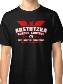 Papers Please - Arstotzka Border Control Classic T-Shirt