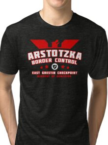 Papers Please - Arstotzka Border Control Tri-blend T-Shirt