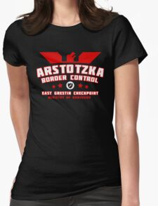 Papers Please - Arstotzka Border Control Womens Fitted T-Shirt