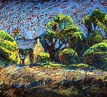 Landscape & Still Life by Alexandra Cook by Linandara