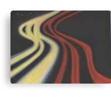 fast highway  Canvas Print