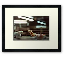 Catch me if u can! Framed Print
