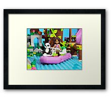 Panda Rescue Framed Print