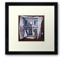 Bethesda Mural Framed Print