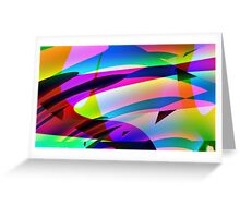Curves and More Curves-Available As Art Prints-Mugs,Cases,Duvets,T Shirts,Stickers,etc Greeting Card