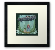 Back to the Swamp Framed Print