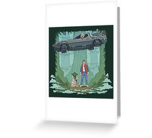 Back to the Swamp Greeting Card