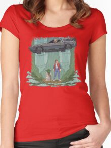 Back to the Swamp Women's Fitted Scoop T-Shirt